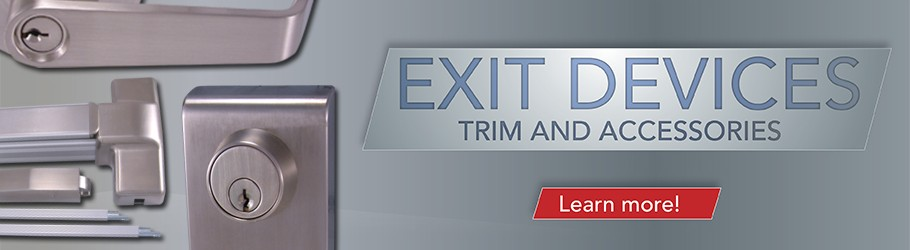 Exit Devices Trim and Accessories